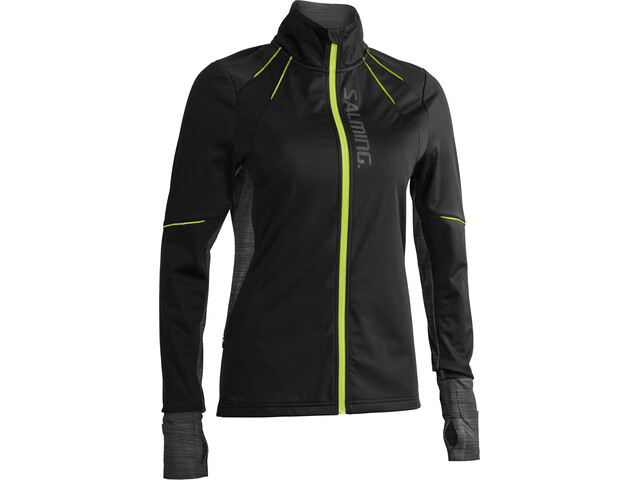 Salming Thermo Windjacke Damen black/black melange
